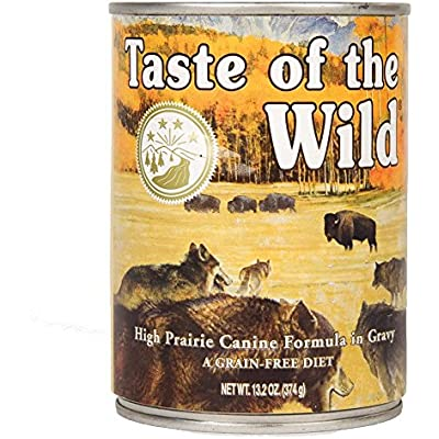 Taste Of The Wild High Prairie Can Dog Food,13.2 Oz case of 12