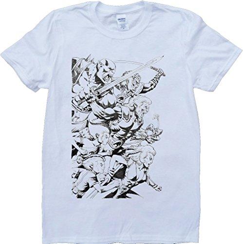 Brain Dump Tees Herren T-Shirt weiß weiß