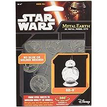 Fascinations Metal Earth Star Wars Force Awakens BB8 3D Metal Model Kit