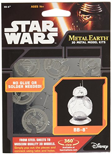 slika DAM Figurine Metal Earth à Installer: Star Wars: BB-8