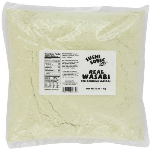 Sushi Sonic Wasabi Blend (51% Wasabi with Horseradish and Mustard), 35-Ounce Bag by Sushi Sonic