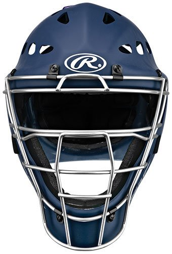 Rawlings Youth Catchers Helmet, Matte Navy by Rawlings
