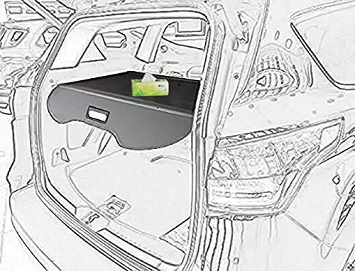 kongka Cargo Cover for 13-17 Ford Escape Cargo Cover Black Trunk Shielding Shade - Trunk Ford