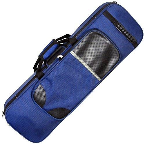 - Ashbury Cases & Bags Oblong Violin Foam Case - Blue