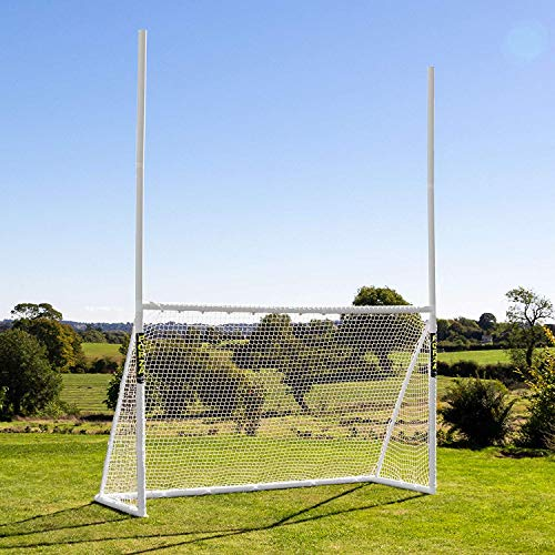 FORZA PVC Football/Soccer Combination Goals | Multi-Sport Backyard Goals [3 Sizes] from FORZA