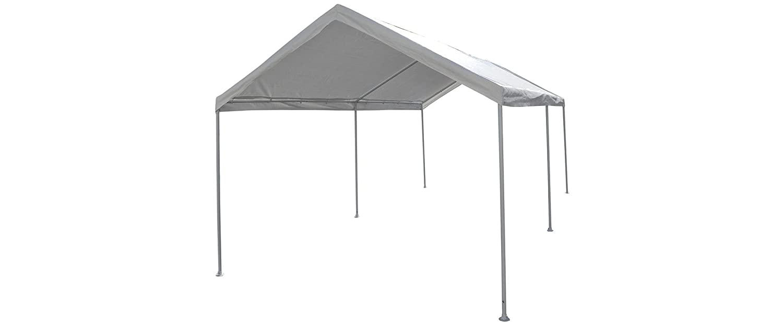 Caravan Canopy 10 X 20 Feet Domain Carport White Amazon De Garden