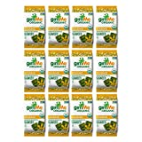 gimMe Snacks Organic Premium Roasted Seaweed, Sesame,  Gluten-Free & Non-GMO,  0.35 Ounce (10 g) - (Pack of 12)