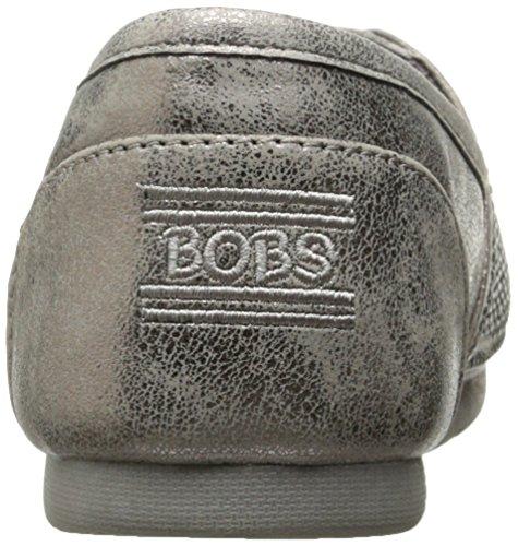 Skechers Bob Da Donna Luxe Bobs-big Dreamer Flat Peltro