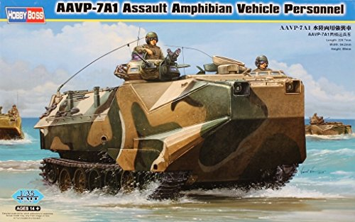 Amphibian Kit Vehicle (Hobby Boss 1:35 AAVP-7A1 Assault Amphibian Vehicle Personnel Plastic Kit #82410)