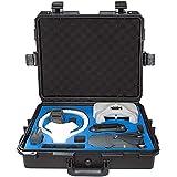 Ultimaxx Water Proof Rugged Compact Storage Hard Case for DJI FPV VR Goggles and DJI Mavic PRO & DJI Mavic PRO Platinum + Fits Extra Accessories