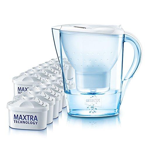 Brita Wasserfilter Marella Cool weiß, Jahrespaket