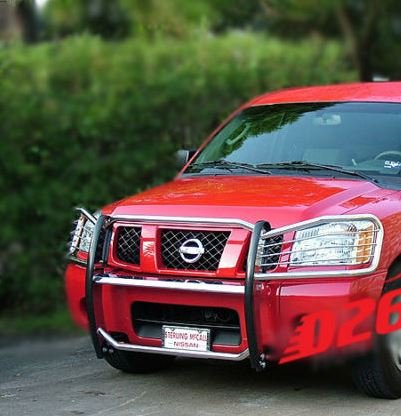 Nissan Titan Brush Guard - 6