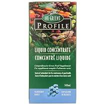 Nu-Greens Profile Blueberry Liquid, 500mL Bottle/IFC