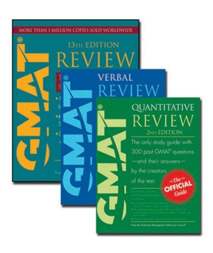 GMAT Official Guide 13e Bundle