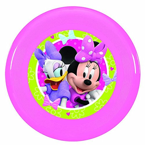 Disney Minnie Mouse Flying Disc Birthday Party Toy Favour and Prize Giveaway (1 Piece), Pink, -