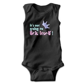 No es va a Lama sí mismo para bebé Baby Girl Boy sin mangas Color puro Pelele Mono pijama disfraz: Amazon.es: Deportes y aire libre
