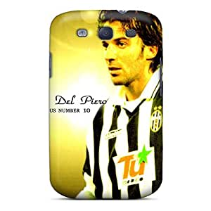 High-end Case Cover Protector For Galaxy S3(the Football Player Of Sydney Alessandro Del Piero On Yellow Background)