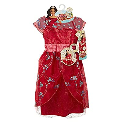 Elena of Avalor Red Royal Ball Gown: Toys & Games