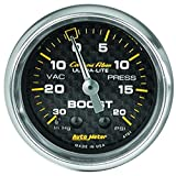 Auto Meter 4701 Carbon Fiber Mechanical Boost/Vacuum Gauge