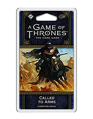 A Game of Thrones LCG 2nd Ed: Called To Arms Game by Fantasy Flight Publishing