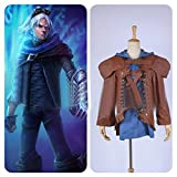 Goldworld-LOL-League-of-Legends-Ezreal-Anime-Cosplay-Costumes-Outerwear-Custom-Made