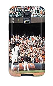 New Style san francisco giants MLB Sports & Colleges best Samsung Galaxy S5 cases 8611385K931313513