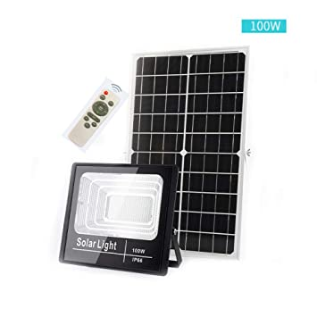 FUYY Proyector Solar LED, Luz De Seguridad para Exteriores Super ...