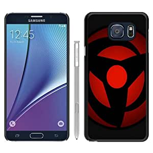 Fashionable Samsung Galaxy Note 5 Edge Case ,Unique And Popular Designed Case With Naruto Kakashi Obito Mangekyo Sharingan Black Samsung Galaxy Note 5 Edge Great Quality Screen Case