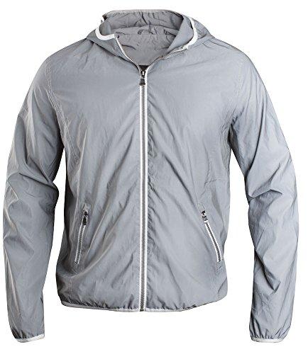 Jacket Uomo 949 Hardy reflective Bianco Giacca Reflective Clique xqTCzw7w