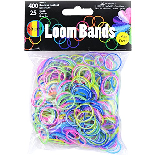 Midwest Design Imports Loom Bands 2-Toned Value Pack from Midwest Design Imports, Inc.