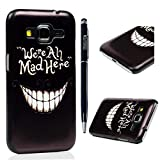 G360 Case,Core Prime G360 Case- MOLLYCOOCLE Colorful Painted PC Plastic Hard Shell Cover Clear Ultra Slim Fit Skin Case for Samsung Galaxy Core Prime SM-G360F G3606 G3608 G3609