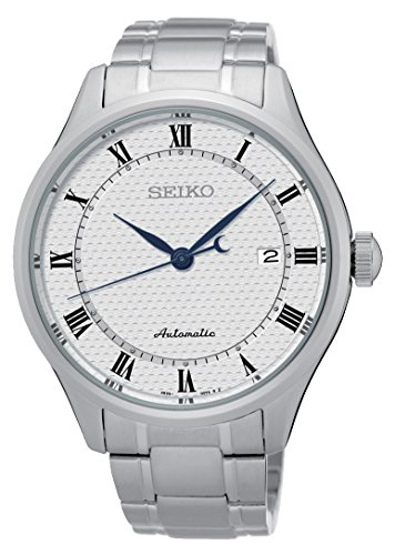 Seiko-Automatic-SRP767-White-Dial-Stainless-Steel-Band-Mens-Watch