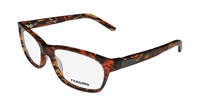 37430dc0f2 Renoma R1064 Mens Womens Designer Full-Rim Shape Signature Logo Colorful  Genuine Eyeglasses