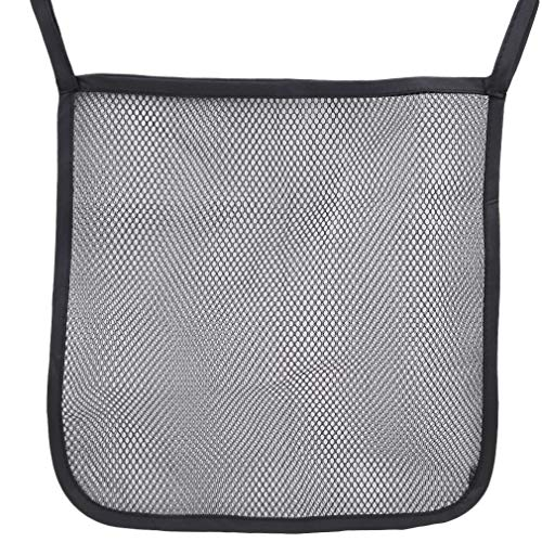 Iumer Baby Stroller Mesh Carry Bag Hanging Diapers Toys Clothes Organizer,Black side from IumerIU