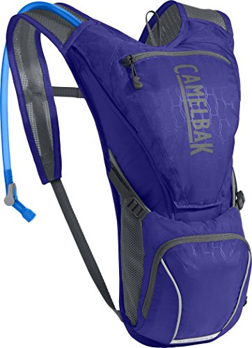 Pack Hydration Outdoor Graphite (CamelBak Aurora Crux Reservoir Hydration Pack, Deep Purple/Graphite, 2.5 L/85 oz)