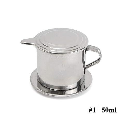 Amazon.com: Filtro de café vietnamita, acero inoxidable ...