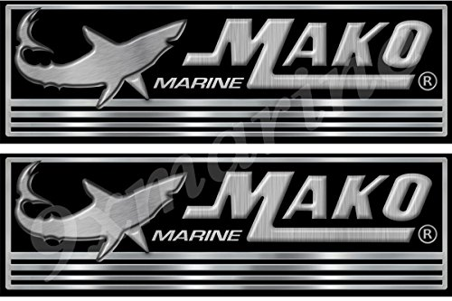 Mako Boat Decals/Stickers. Remastered decals/stickers for boat restoration project