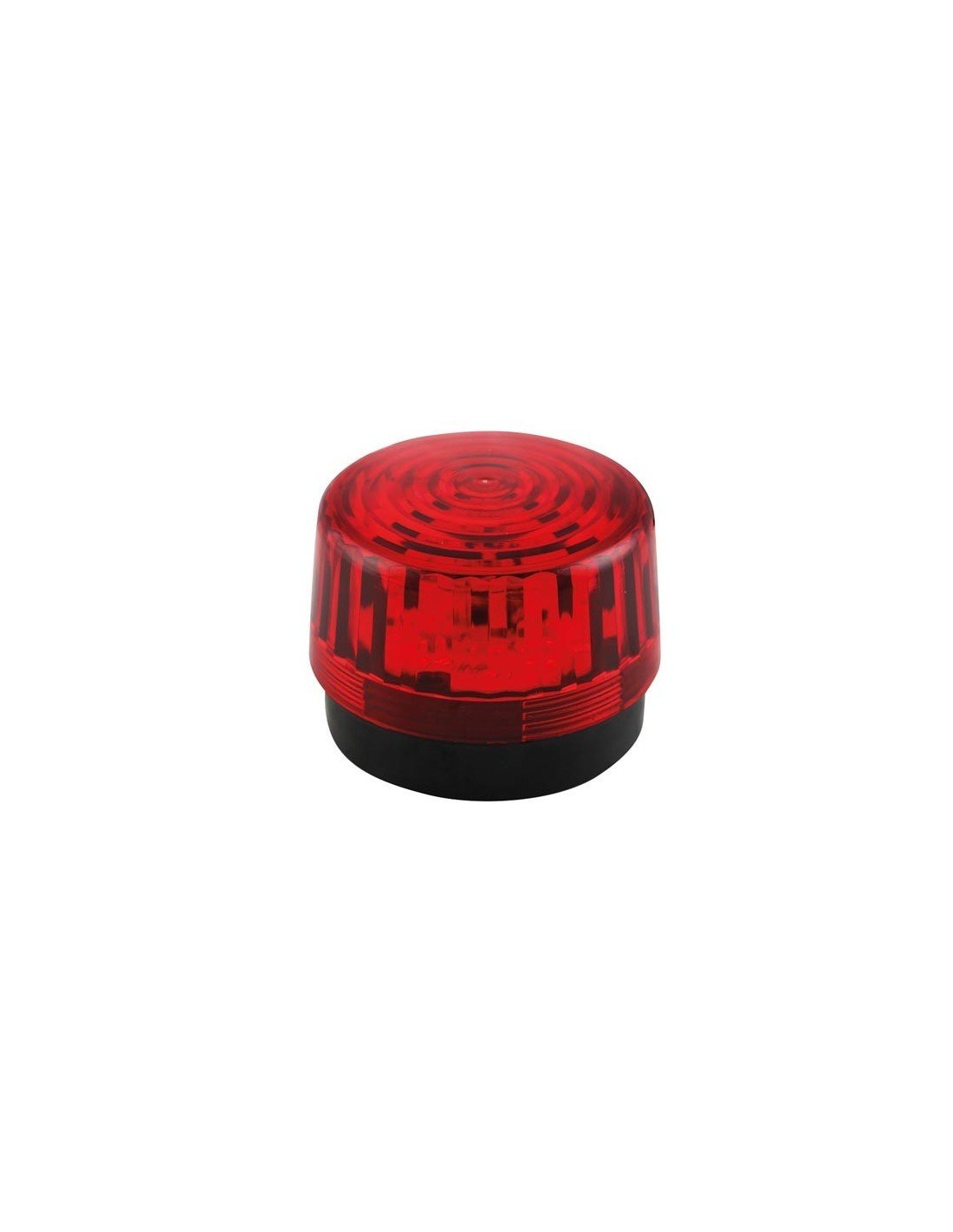 Velleman 640920 LED Blitzlicht, 12 VDC, Rot HAA100RN