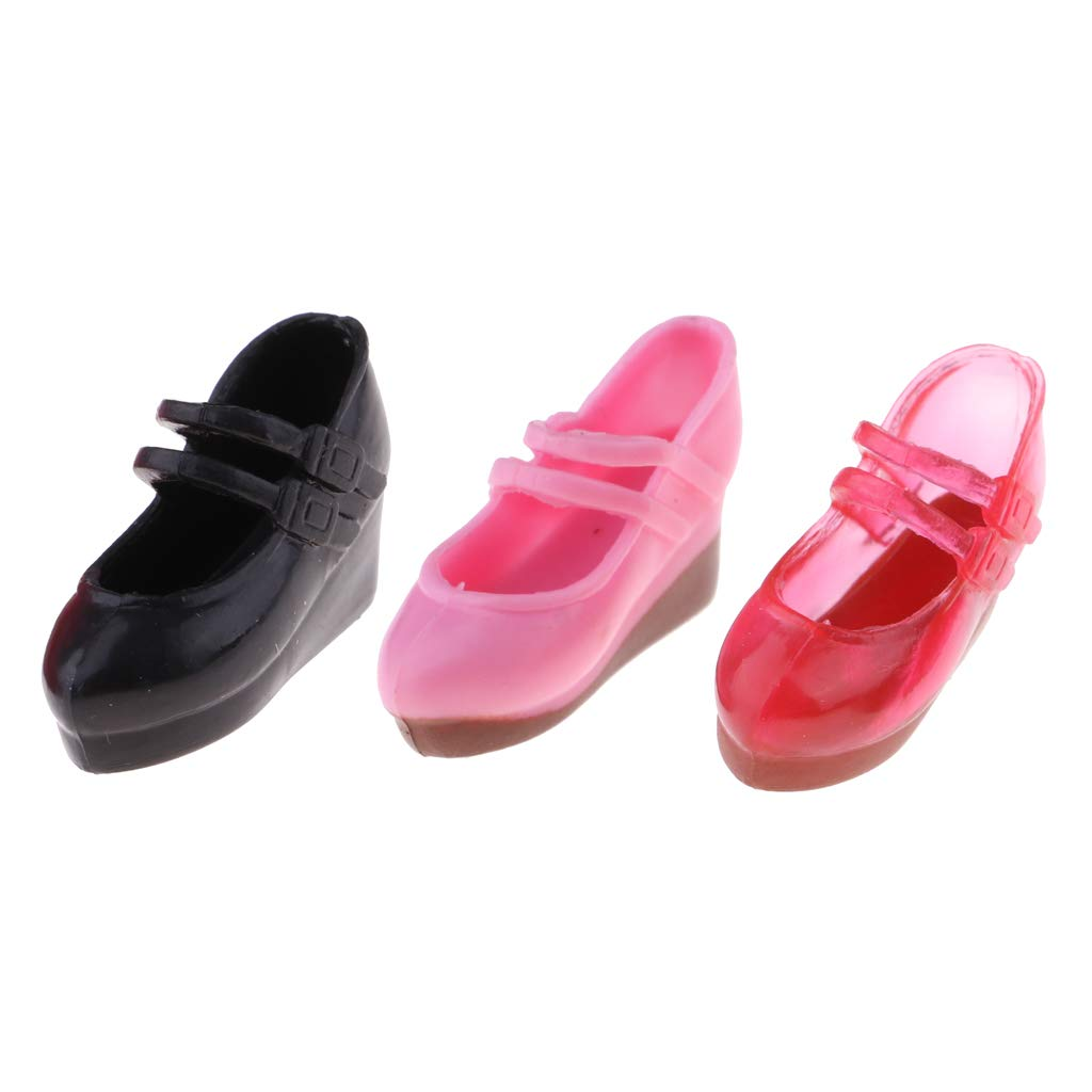 10 Pairs Fashion Doll Low Shoes For Blythe 1//6 Doll Accessories Shoes Toy