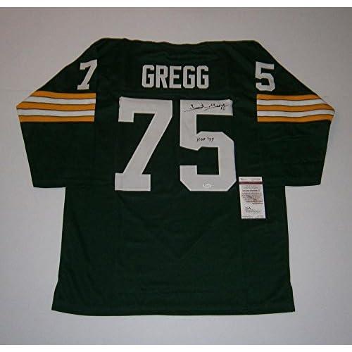30%OFF Forrest Gregg Signed Jersey - custom w HOF 77 COA - JSA Certified 476a057db