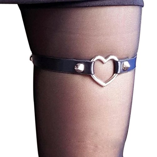 Mallcat LOVE Womens Harness Garter Belts Cosplay Spike Party ()