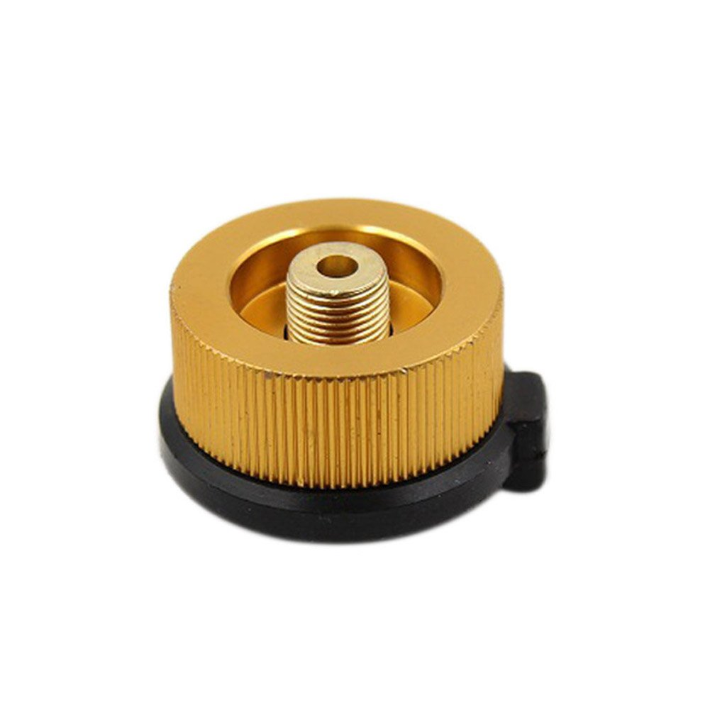 Cutogain Outdoor Camping Hiking Stove Adapter Split Type Furnace Connector Head Gas Cylinder Converter