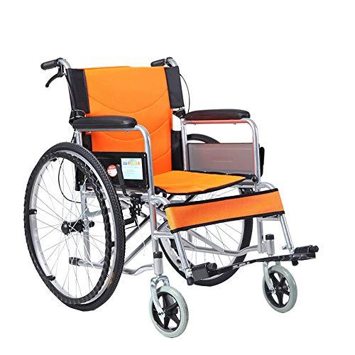 Amazon.com: YX Xuan Yuan – Silla de ruedas plegable para ...