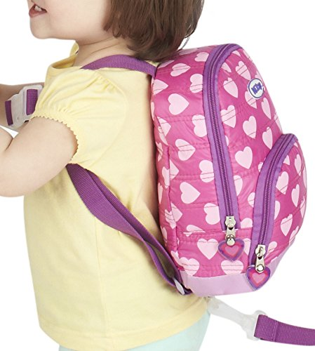 8ac101b020 Amazon.com   Nuby Quilted Baby Backpack with Safety Harness