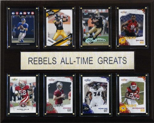 NCAA Football Mississippi Rebels All-Time Greats Plaque