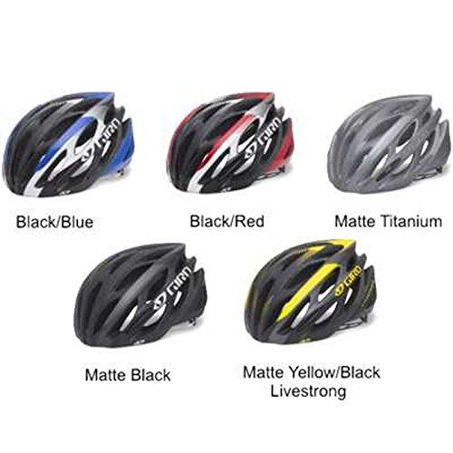 Giro Saros Cycling Helmet (Matte Titanium, Small)