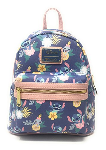 Loungefly Lilo All Over Print Faux Leather Mini Backpack Standard (loungefly backpack)