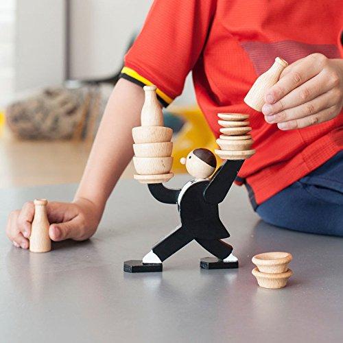 Die Balance des Kellners Gesellschaftsspiel - Kellner Geschlicklichkeit Spiel Don't Tip the Waiter Stapelspiel Don't Tip the Waiter