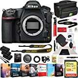 Nikon D850 FX-Format Full Frame Digital SLR DSLR Wi-Fi 4K Camera Body with Deco Gear Photography Case Cleaning Kit 2X Extra Battery Power Editing Bundle