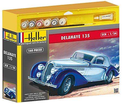 Heller - 50707 - Maquette - Voiture - Delahaye 135 135 135 - Echelle 1/24 - Kit a16eb1